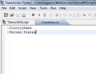 Text Matching Test Test Data With only United States