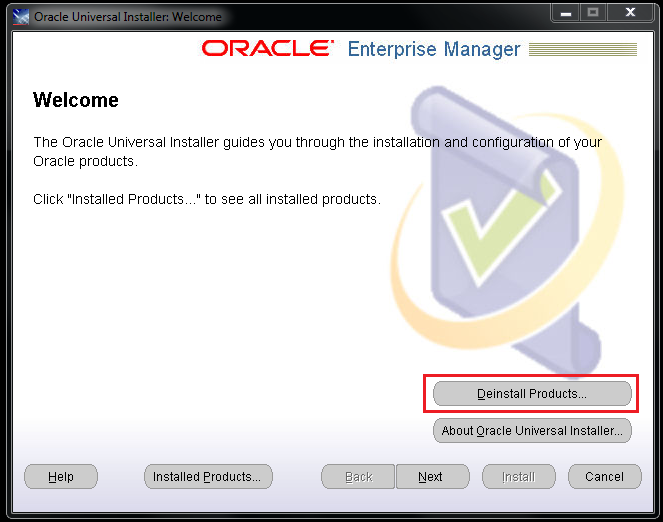 7 Steps to uninstall Oracle Application Testing Suite – OATS