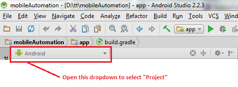 Execute your first test automation script for mobile app