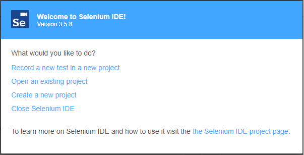 Selenium IDE re-surfaced with new capabilities - Testing Tools